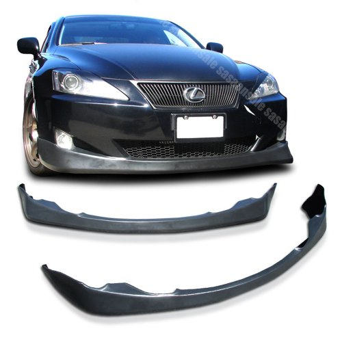 NEW - 06 07 08 Aftermarket Made LEXUS IS250 IS350 DUB VER-TEX Front PU Bumper Add on Lip