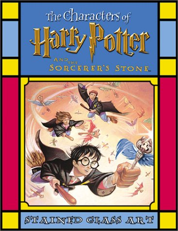 Harry Potter and the Sorcerer's Stone (Harry Potter Stained Glass Books)