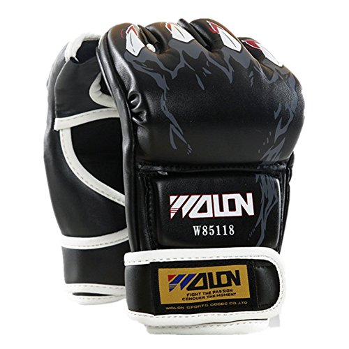 Tiger Claws MMA Gloves (Black) - 4