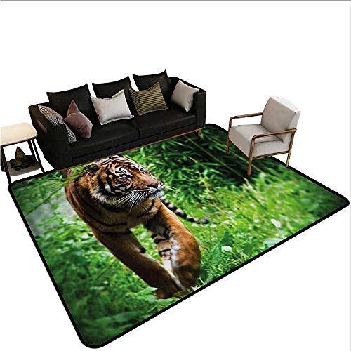 (Tiger,Floor Mat Home Decoration Supplies 64