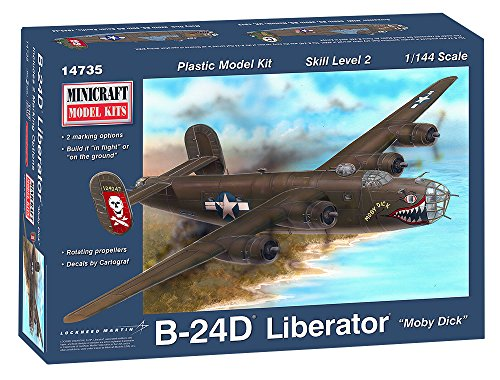 Minicraft B-24J Moby Dick - Minicraft Kit