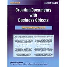 Business Objects: BusinessObjects Web Intelligence XI V3.1