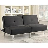 Coaster 300206 Home Furnishings Sofa Bed, Charcoal