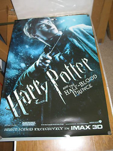 HARRY POTTER A/T HALF BLOOD PRINCE/ORIG. US.ONE SHEET TEASER MOVIE POSTER ()