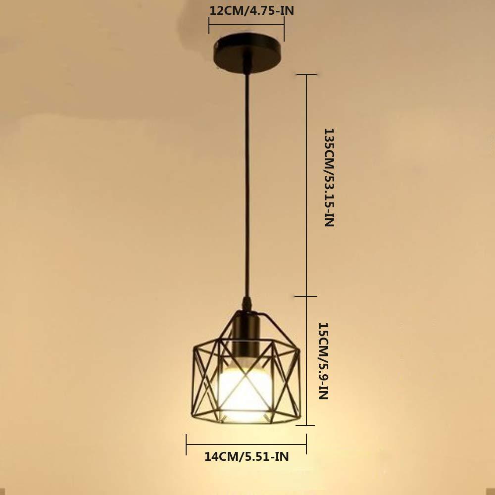 Luces pendientes de Floodoor, estilo industrial del vintage ...