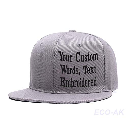 Unisex Embroidered Snapback Hip Hop Hat Custom Baseball Cap Mesh Trucker Dad Hat