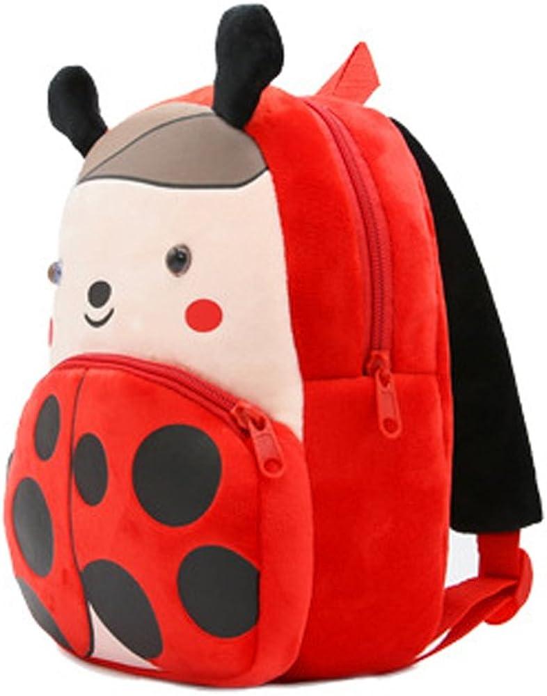 New Cartoon Cute Animal Plush Backpack for Kids Age 1-5Years