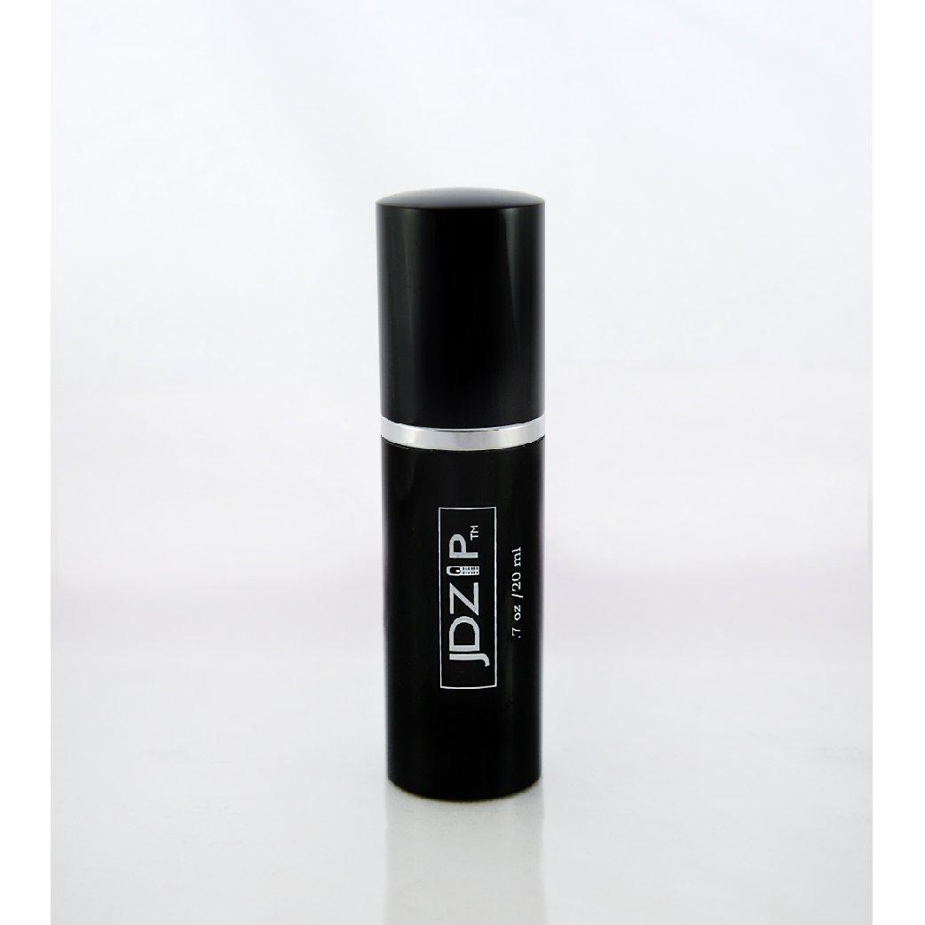 LollyZip Men's Fine Mist Spray Travel Bottle and Funnel, TSA Compliant, Set of 2 (JD.7SB)