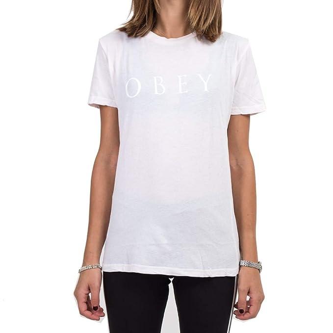 Obey T-Shirt Donna Novel 2 264711274 (L - Mink)