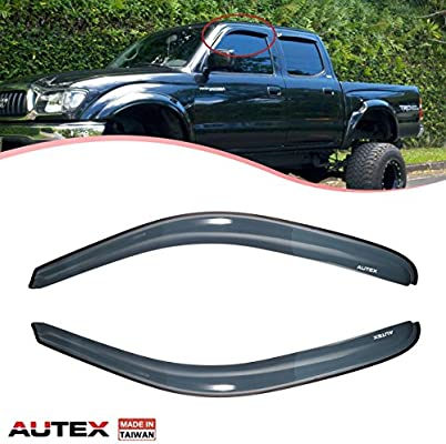 Toyota Tacoma 2001-2004 In Channel Wind Deflectors Vent Visor Shade 2 pc