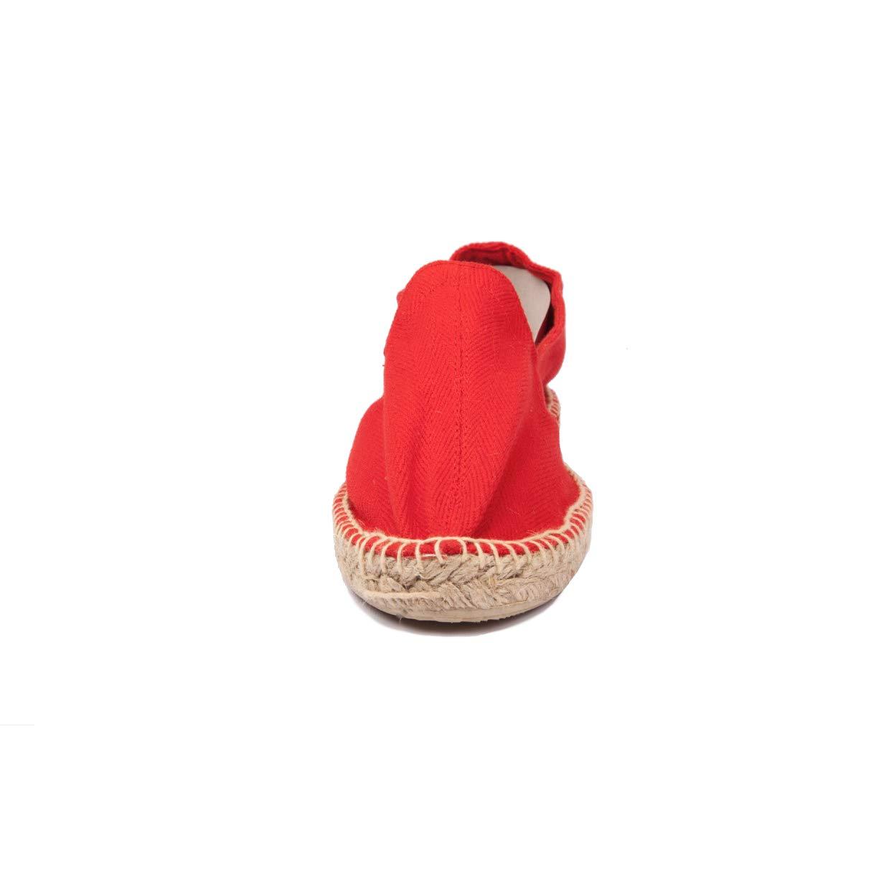 Alpargatas Yute Color Rojo