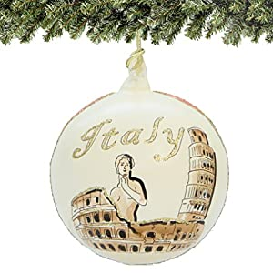 Venice Christmas Hand Painted Ornaments