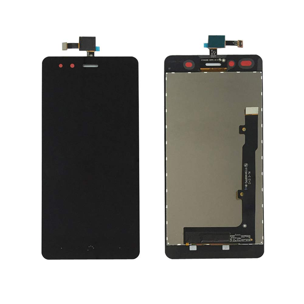 JayTong LCD Display & Replacement Touch Screen Digitizer Assembly with Free Tools for BQ Aquaris X5 Black by JayTong