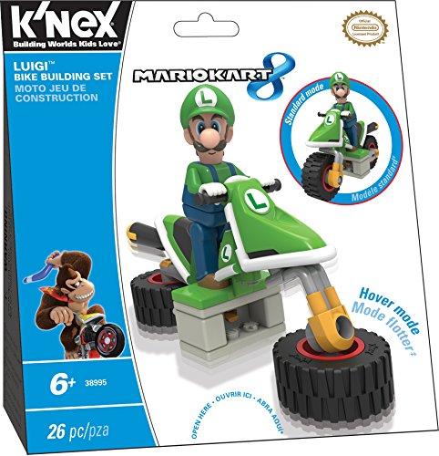 K'NEX Mario Kart 8 - Luigi Bike Building Set