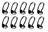 Panasonic On-Ear Stereo Headphones RP-HT21 (100-Pack)