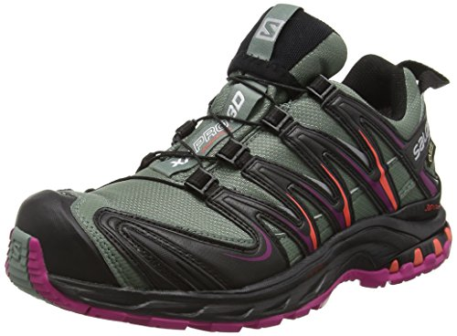 Punch Femme Light 3D Gris Pro Salomon Chaussures Trail Coral Black de Titan XA Aw1pqH