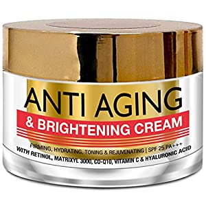 StBotanica Pure Radiance Anti Aging & Face Brightening Cream, SPF 25 – Firming, Hydrating, Toning & Rejuvenating – 50g