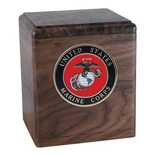 US Marine Corps Cremation Box