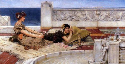 Art Oyster Sir Lawrence Alma-Tadema Loves Votaries - 15.05