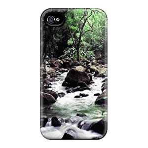Hot New The Hawaiian Stream Case Cover For Iphone 4/4s With Perfect Design