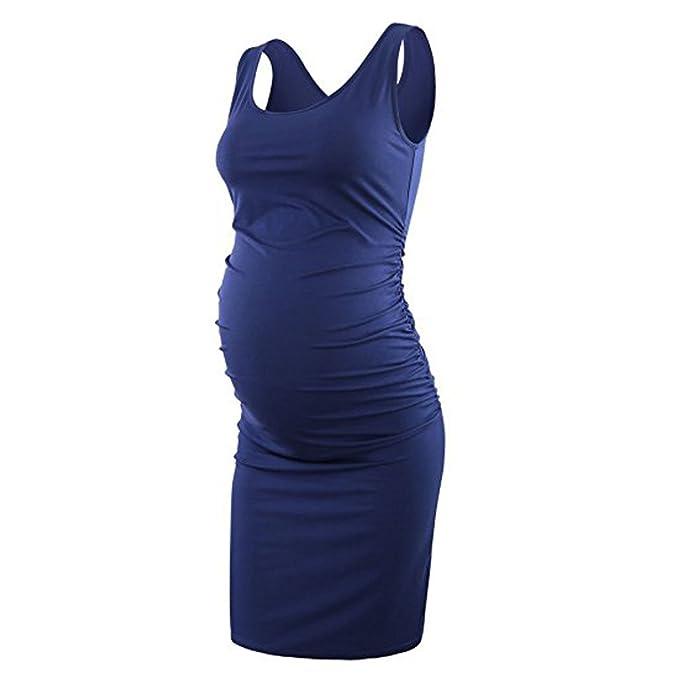 Vestido Azul Rey Para Embarazada Vestidosembarazadascom