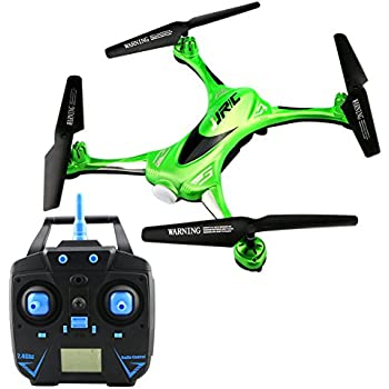 GEEDIAR JJRC H31 Waterproof Headless RC Quadcopter Drone with Camera,2.4G 4CH 6Axis 360°Rolling Action 3D CF One Key Return Quadcopter RTF with LED Light for Night Flight (Green-01)