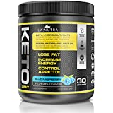 Keto Limit Blue Raspberry Ketogenic Diet Supplement〡BHB Exogenous Ketones and MCT Oil Keto Powder to Burn Fat, Promote Mental Focus and Natural Energy. Achieve Ketosis w/Our Non-GMO Keto Supplement