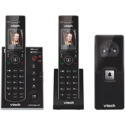VTECH IS7121-2 DECT 6.0 2-Handset Video Doorbell Landline Telephone