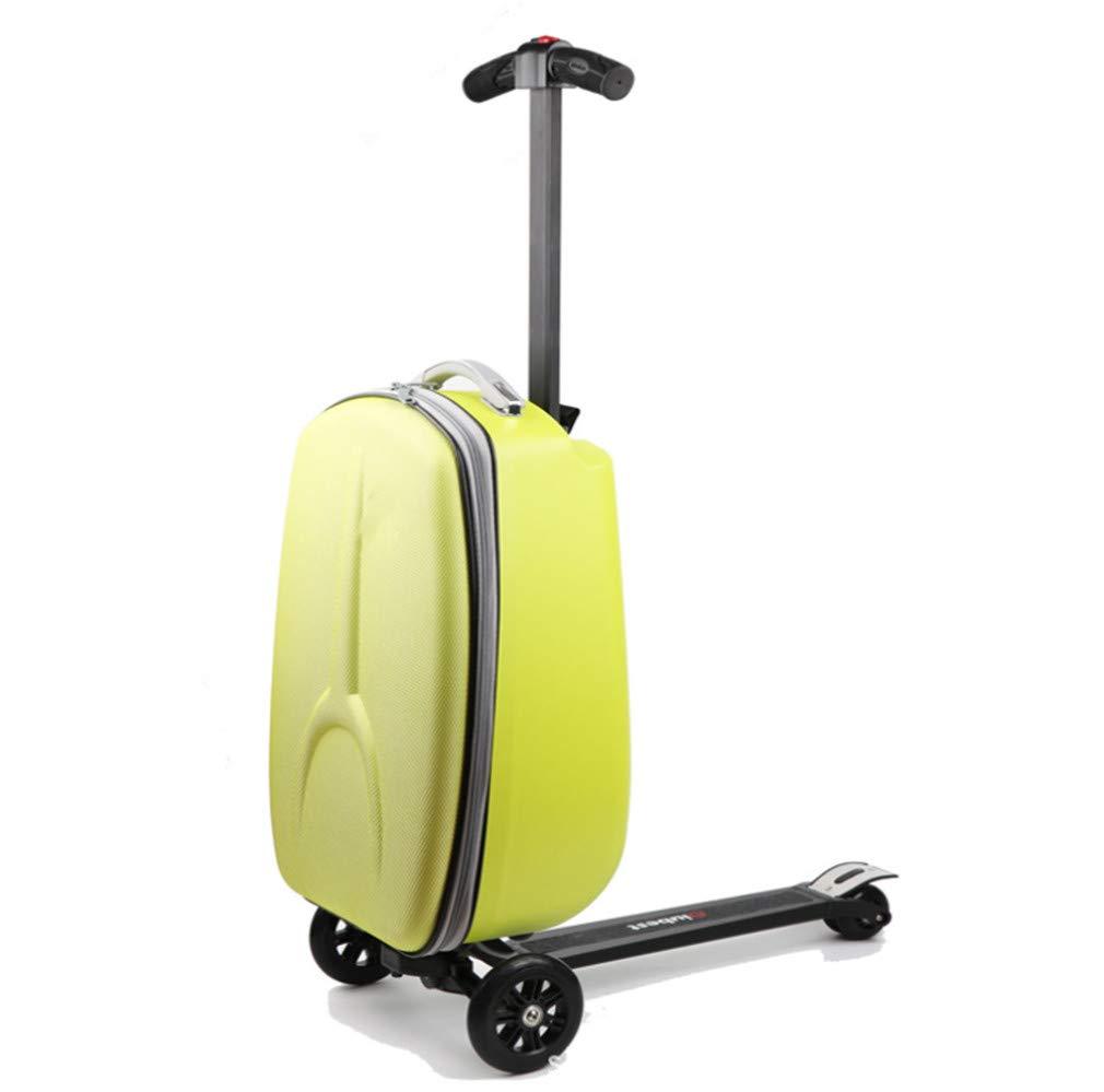 スクーター荷物、20インチクリエイティブスクータースーツケースポータブル折りたたみ防水多機能プルロッドにシャーシギフト   B07RVQ7CD7