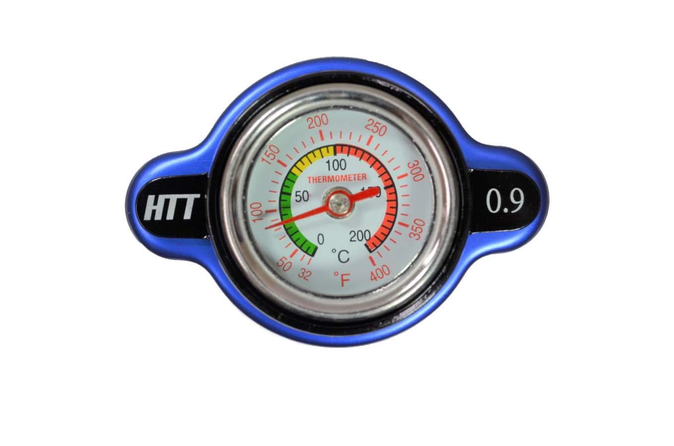 High Pressure Radiator Cap with Temperature Gauge 1.8 Bar for Polaris RANGER 1000 XP CREW EPS 2017-2018