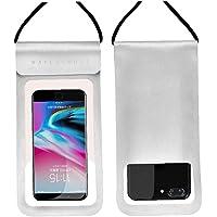 1st Vattentät mobilväska Underwater Phone Pouch Dry fallet täcker Silver (för telefon 5.1-6 inches) Mobiltelefon…