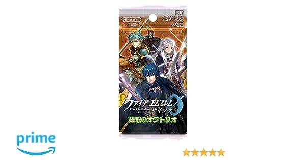Nintendo TCG Fire Emblem 0 (Cipher) Booster Pack Yuhi no Oratorio (Oratorio of Embarkation) Box (16 Packs)