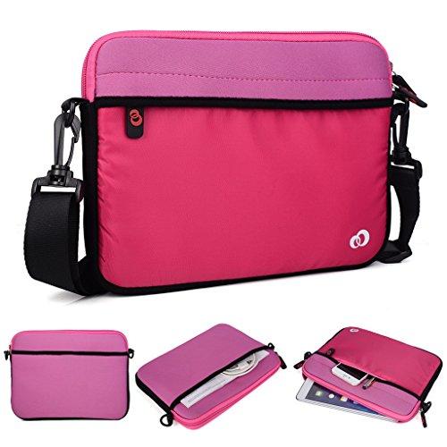 Kroo Tablet/Laptop Hülle Sleeve Case mit Schultergurt für Acer Iconia B1 nQUMsz