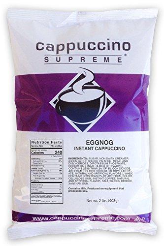Cappuccino Supreme 2 lb bag Eggnog Instant Cappuccino Mix ()