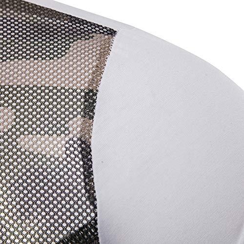 Hommes Manches Blanc Tops Et Revers Couleur Hiver Camouflage S Chemisier Top Patchwork Pull Imprimé Chemise Mode Vêtements Chic À Taille Automne 2xl Adeshop Blouse Pure Slim Maille Longues qHaEpE
