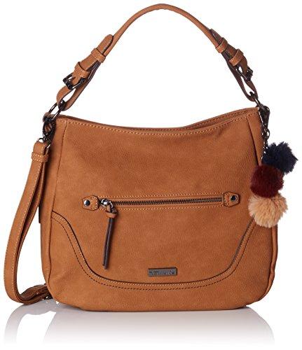 Tamaris Mei - Shoppers y bolsos de hombro Mujer Marrón (Braun (Nut))