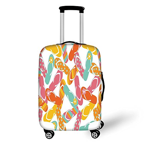 Travel Luggage Cover Suitcase Protector,Summer,Colorful for sale  Delivered anywhere in USA