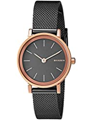 Skagen Womens SKW2492 Hald Light Brown Mesh Watch