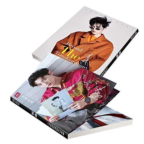The untamed xiao zhan wei wuxian very clear photo album book fans gifts