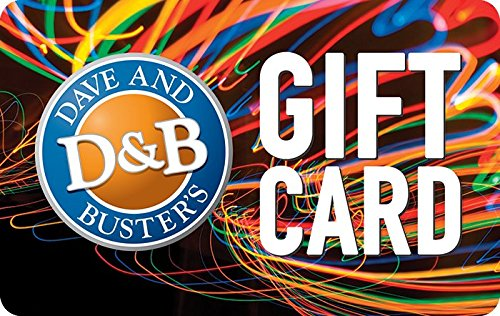 Amazon.com: Dave & Buster's Gift Cards Configuration Asin - E-mail ...