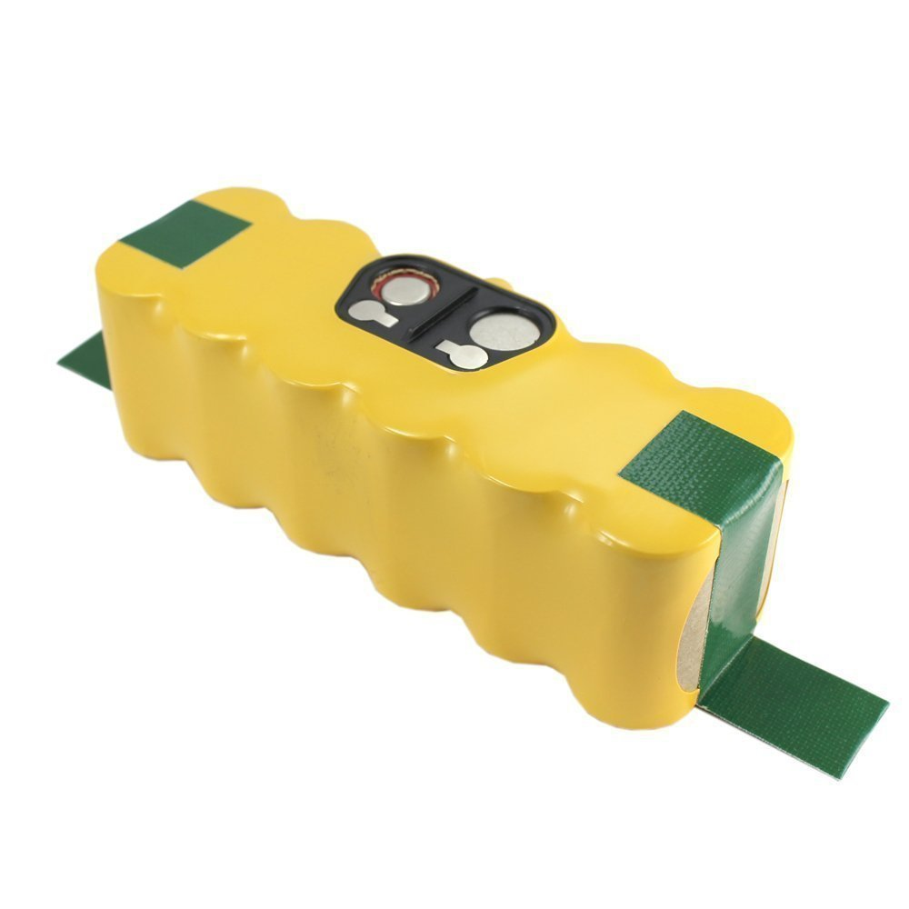 Flylinktech 14.4V 3500mAh Ni-Mh Replacement Battery for irobot roomba 500 510 530 531 532 535 536 540 550 552 560 562 570 580 595 600 620 630 650 660 700 760 770 780 790 800 870 880 900 980