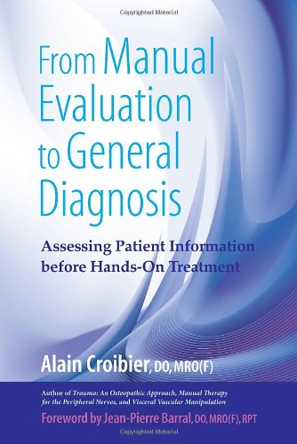 From Manual Evaluation To General Diagnosis: Assessing Patient Information Before Hands-On Treatment