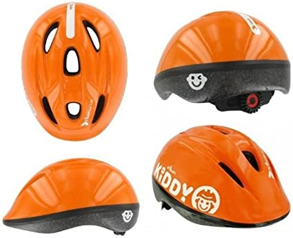 Kinder Fahrradhelm Kinderhelm Kiddy One Farbe Orange Gr S 47 53cm Amazon De Sport Freizeit
