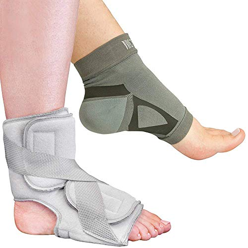 (Nice Stretch Total Solution Plantar Fasciitis Relief Kit - Includes Sleeve and Night Splint)
