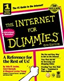 The Internet for Dummies, John R. Levine and Carol Barudi, 0764505068
