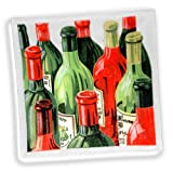 Product review for Peggy Karr Glass Square Handcrafted Vintage Wine Tray, 10-Inch