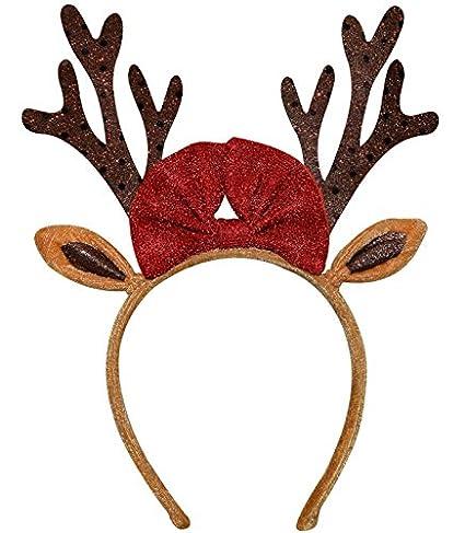 Christmas Headband For Adults.Amazon Com Christmas Reindeer Antlers Headband For Adult