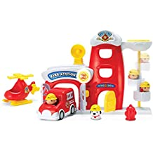 [Sponsored] Toy Fire Metro Force City Station Play Set