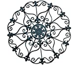 Iron Wall Medallion - Authentic Wall Decor