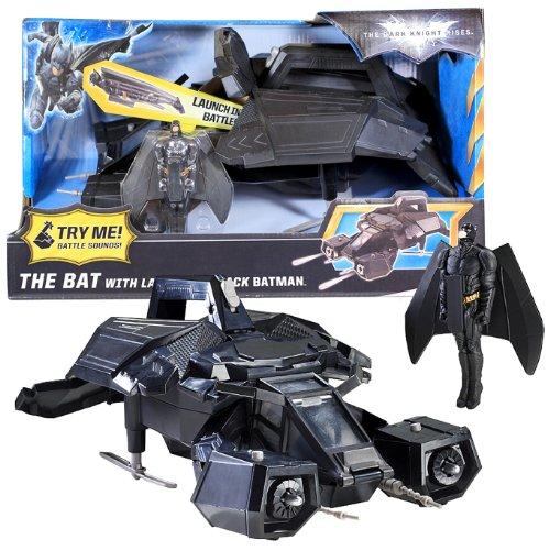 Knight Attack Bat Dark (Mattel Year 2011 DC Batman Movie Series